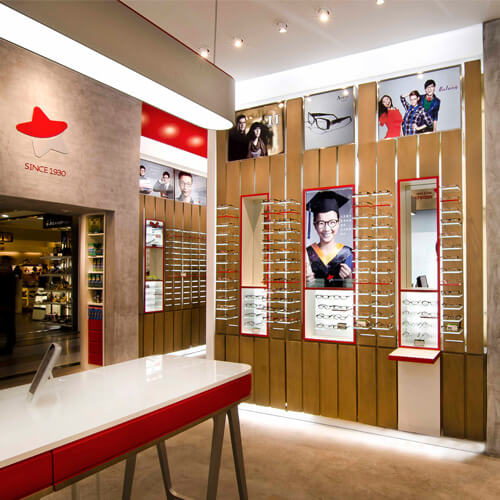 Redstar Optical, Shanghai 红星眼镜,上海